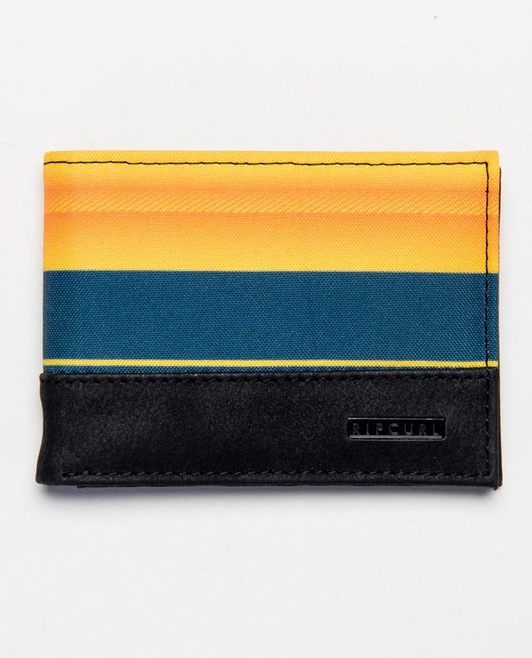 Combo PU Slim Wallet in Orange