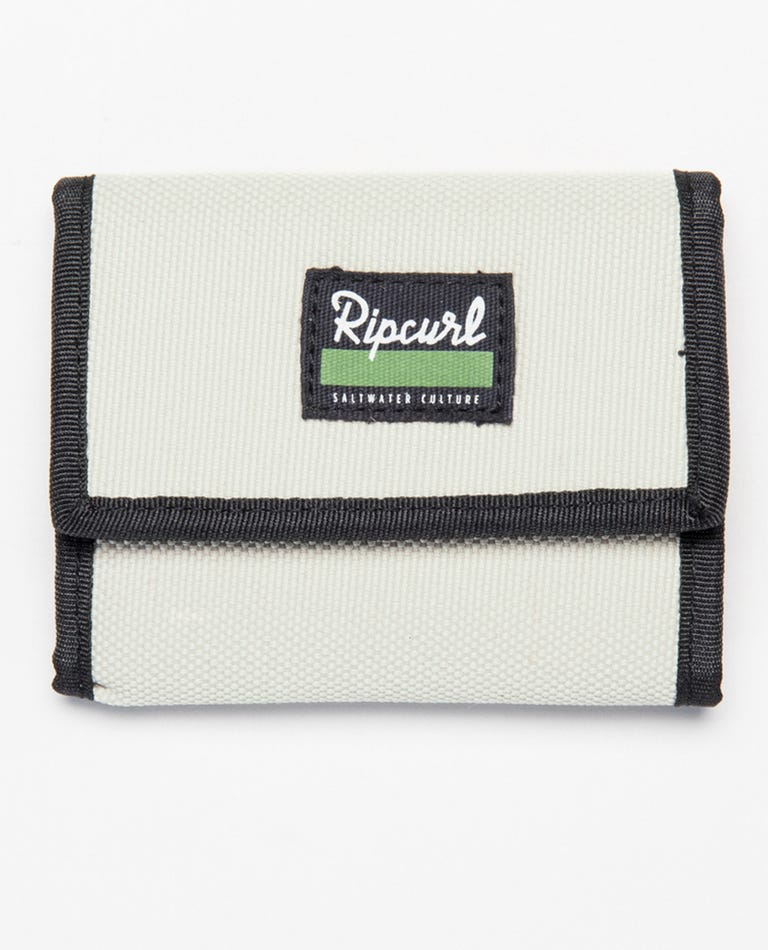 Saltwater Culture RFID Surf Wallet in Light Khaki