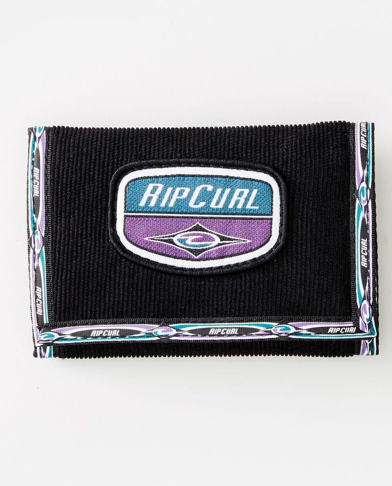 Re-Issue Surf Wallet in Black/Purple