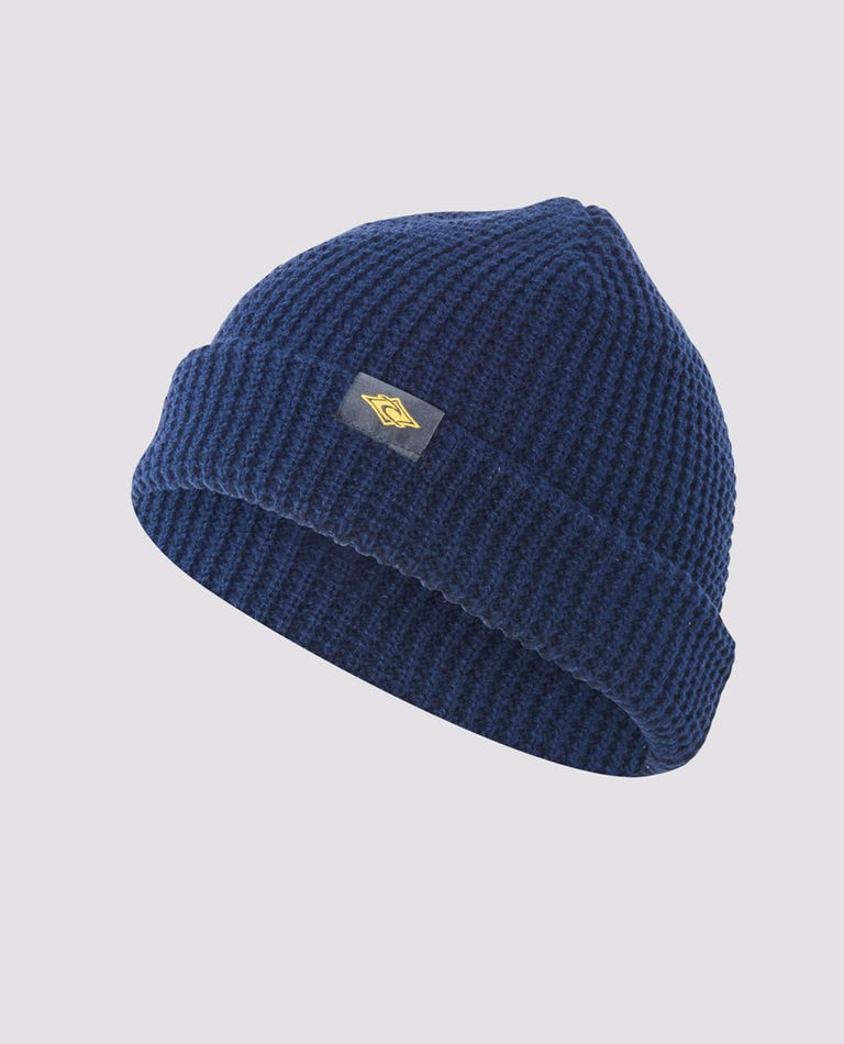 Fade Out Beanie in Navy