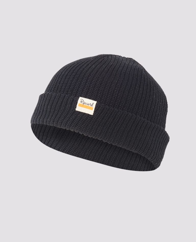Saltwater Culture Beanie in Black