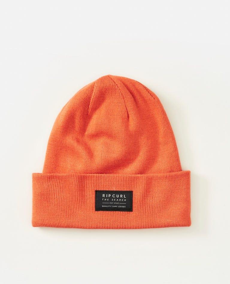 Crusher Beanie in Orange