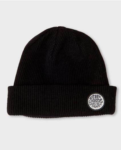 Admiral Beanie in Black