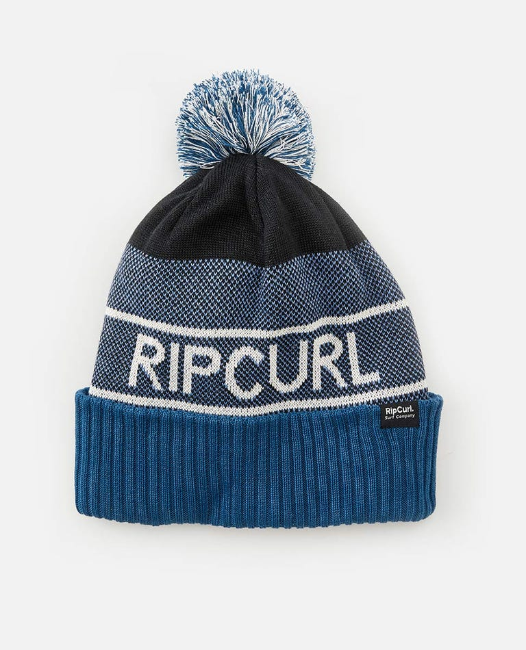 SWC Eco Tall Beanie in Navy
