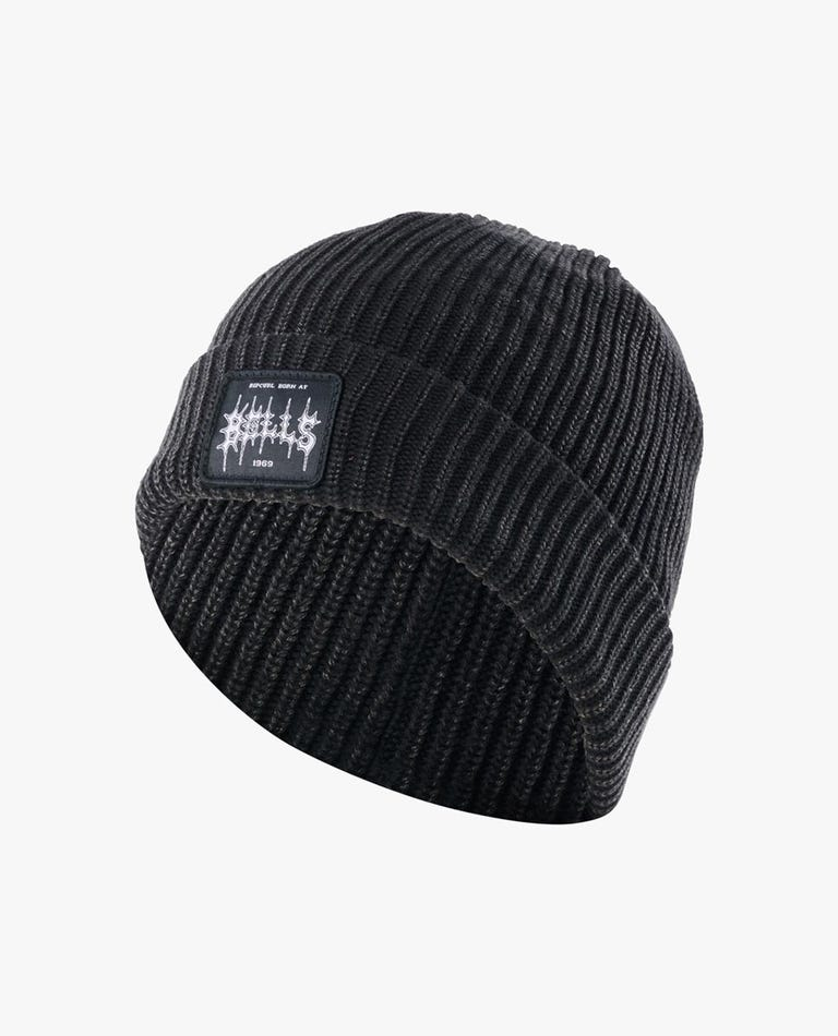 Born At Bells Beanie in Black