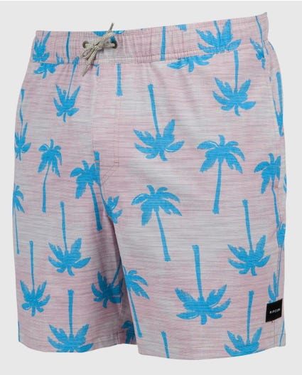 Noisey 17 Volley Boardshorts in Blue