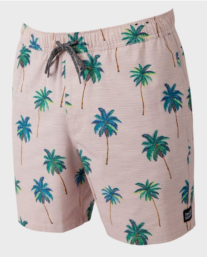 Palm Cruise 17 Volley Boardshorts in Black