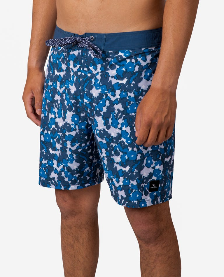 Mirage Back Beach Boardshorts in Navy