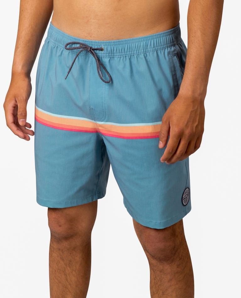 Highway Volley Boardshorts  in Blue Grey