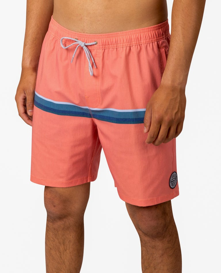 Highway Volley Boardshorts  in Red