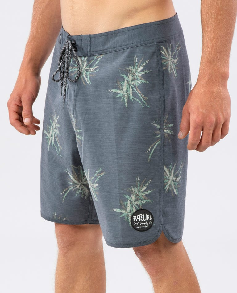 Mirage Party Palm Boardshorts in Black
