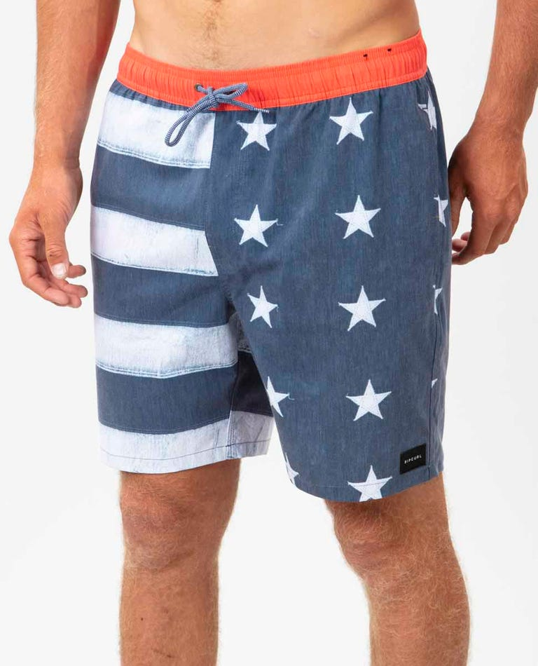 Liberty Volley Boardshorts in Navy