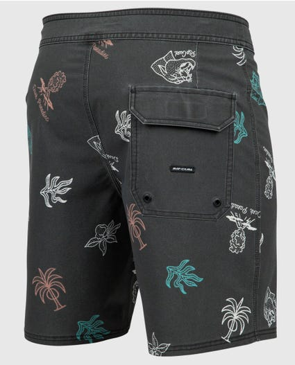 Mirage Dark Paradise 19 Boardshorts in Black