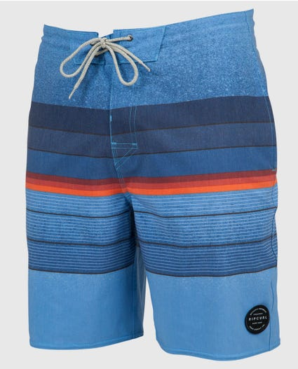 Rapture Stripe Lay Day 19 Boardshorts in Black