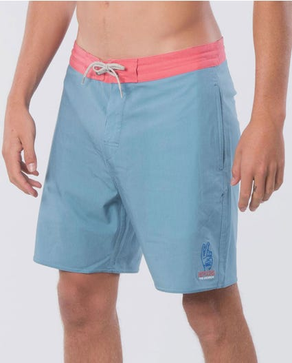 Saltwater Culture Lay Day 18 Boardshorts in Blue