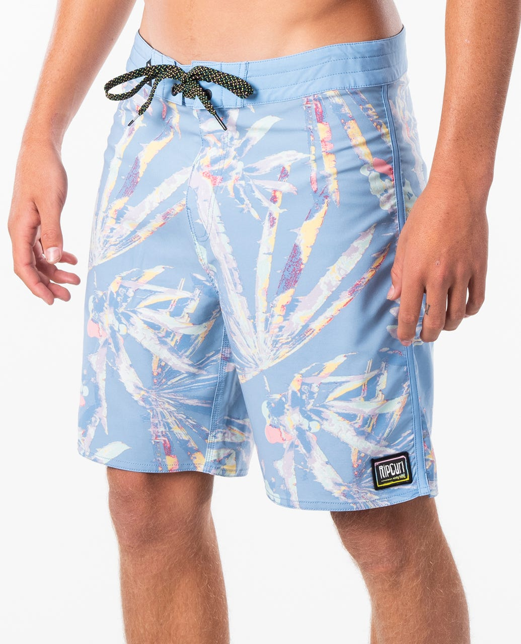 WWT Unicorn Mens Adjustable Beach Shorts with Mesh Lining//Side Pockets