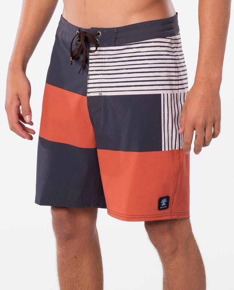 Mirage Searchers Boardshorts in Washed Black