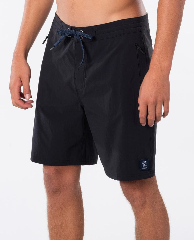 Searchers Layday Boardshorts in Black