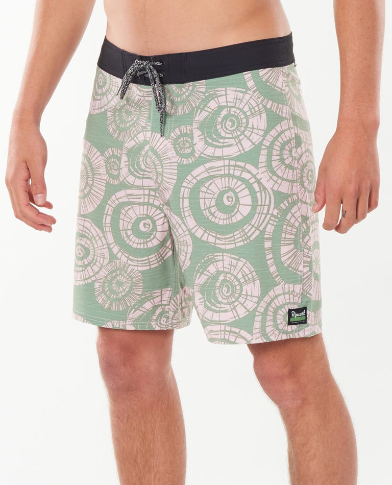 Mirage Saltwater Boardshorts in Green