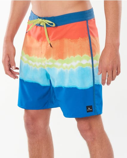 Mirage Mason Surf Heads Boardshorts in Bright Red