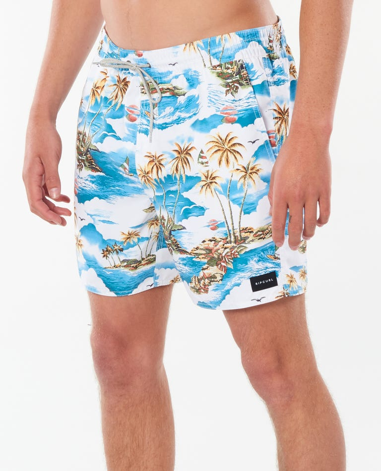 Dreamers Volley Boardshorts in Blue