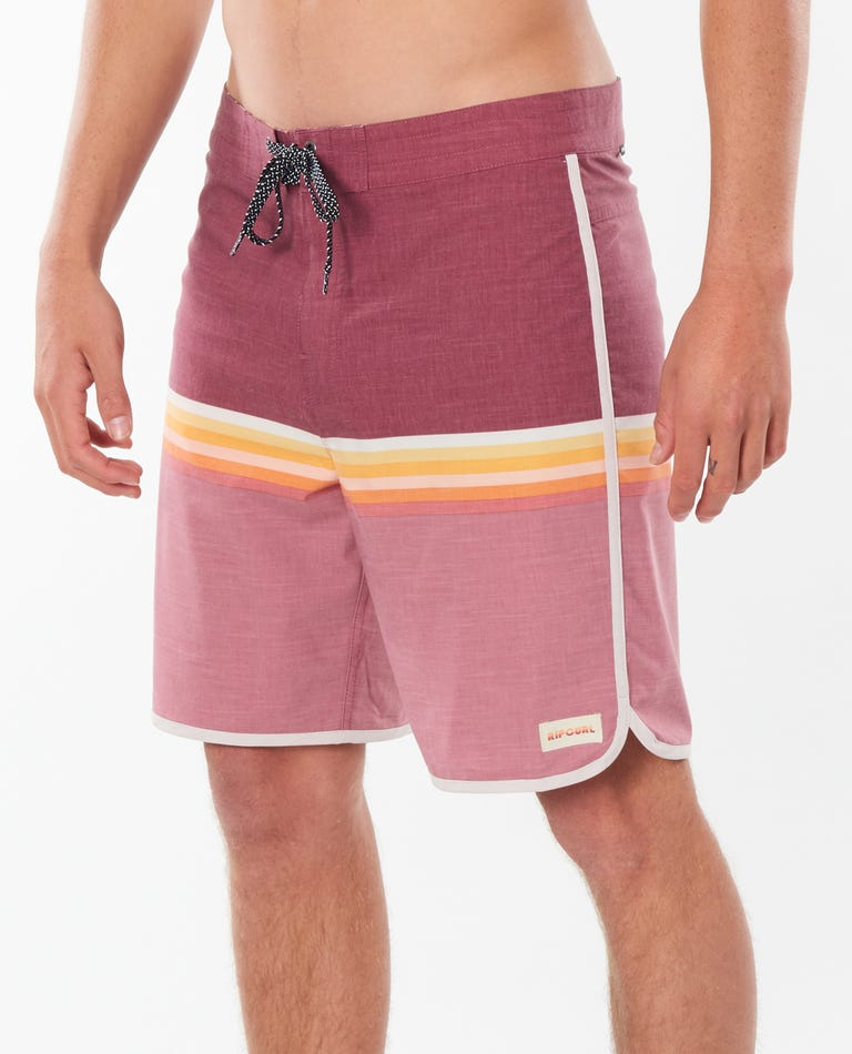 Mirage Surf Revival Boardshorts in Burgundy