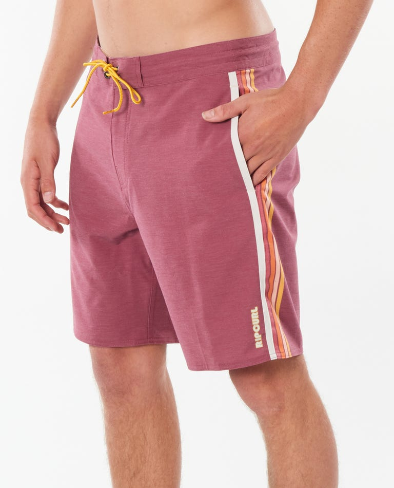 Surf Revival Layday Boardshorts in Burgundy