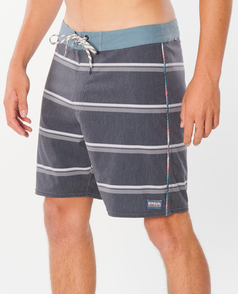 Mirage East Cape 18 Boardshorts in Dark Grey