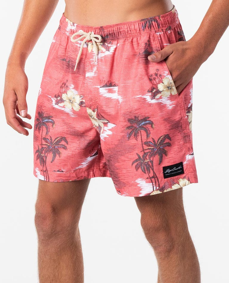 Dreamers 16 Volley Boardshort in Red