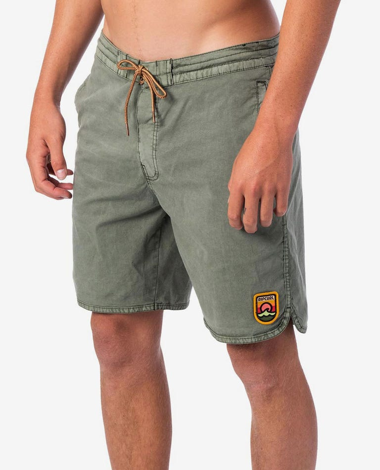 Apache Lay Day 19 Boardshorts in Green