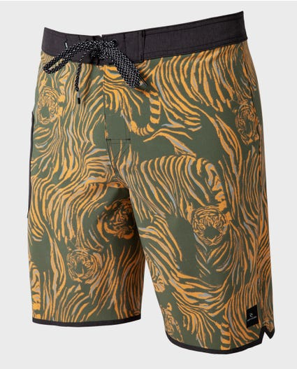 Mirage Medina Stryker 20 Boardshorts in Military Green
