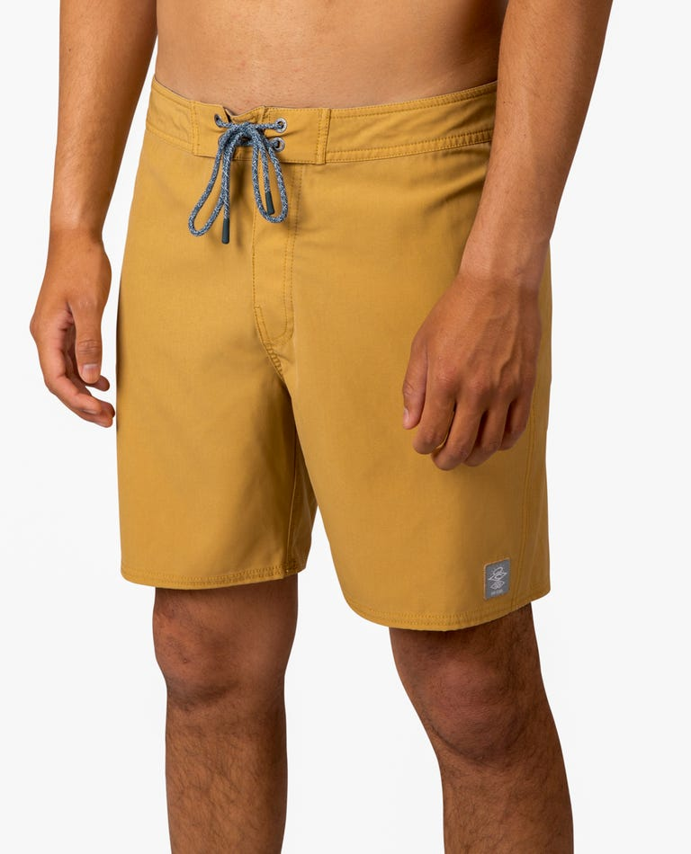 Mirage Core 18 Boardshorts in Yellow