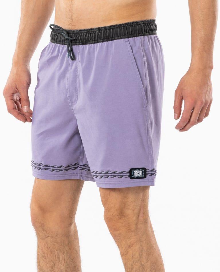 Mind Wave Volley Short in Lavender