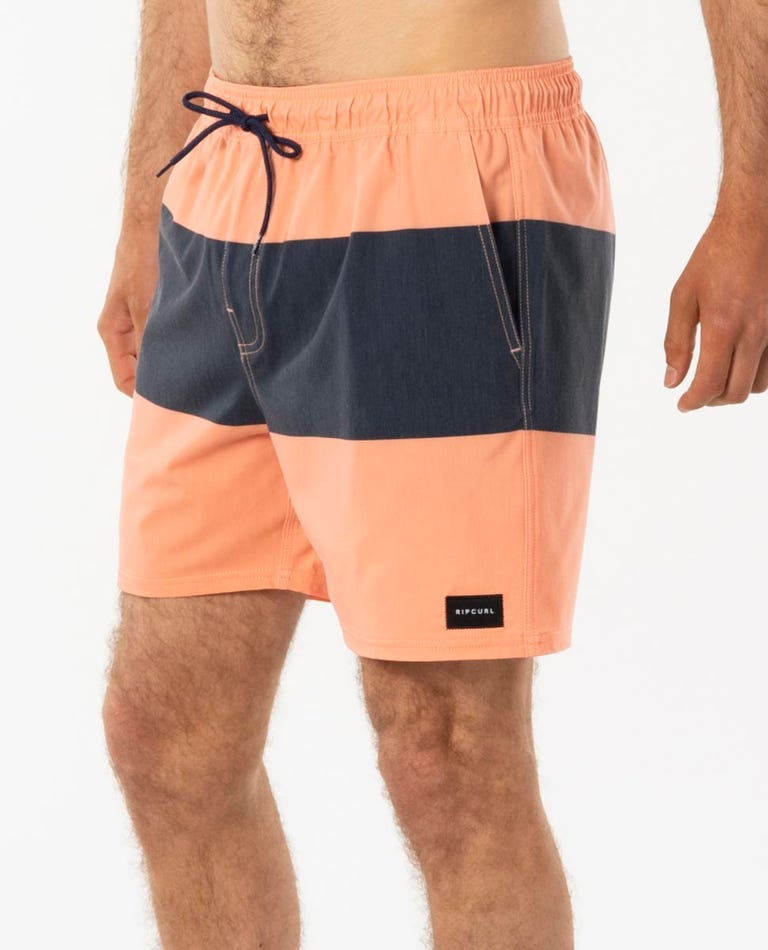 Divide Volley Short in Washed Peach