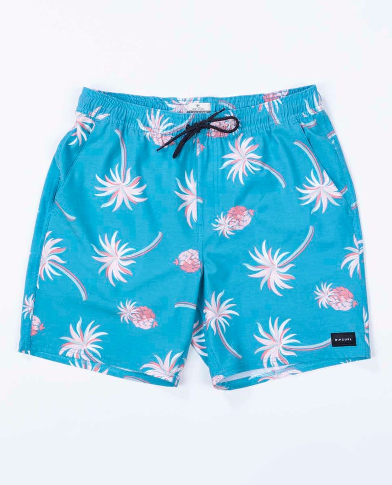 Oasis Party Volley Short in Blue Moon