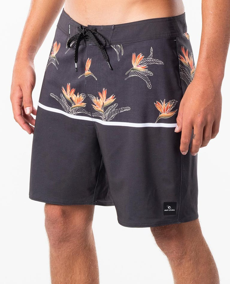 Combined 2.0 18 Mirage Boardshort in Washed Black