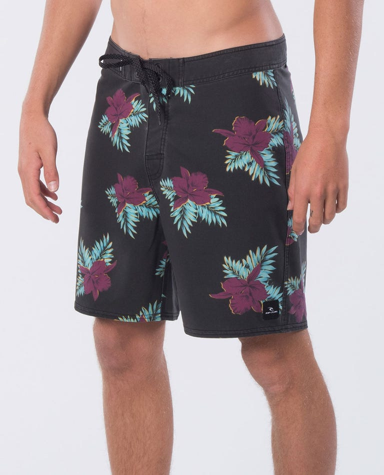 Mirage Savage Cove 18 Boardshort in Black