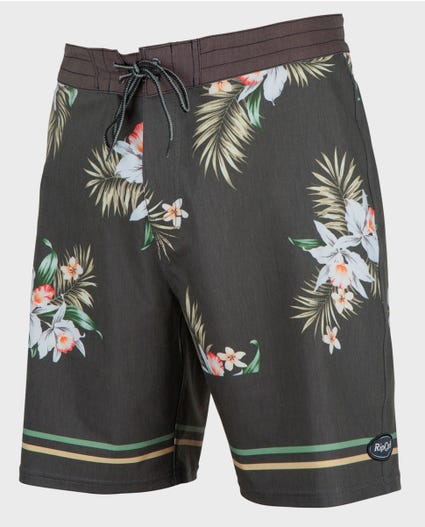 Mirage Atoll 19 Boardshorts in Black