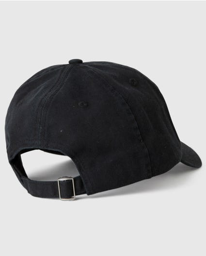 Dark Paradise Dad Cap in Black