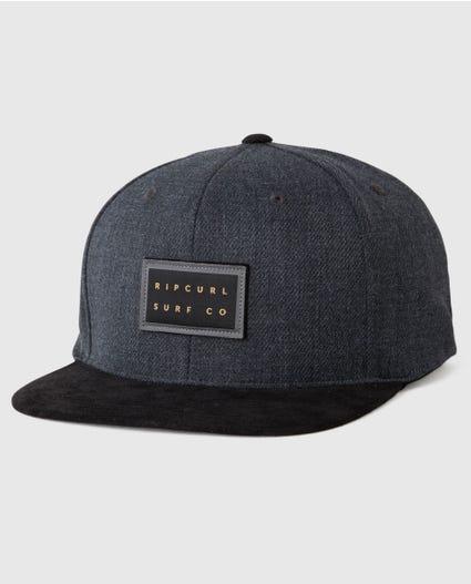 North Snapback Cap in Black