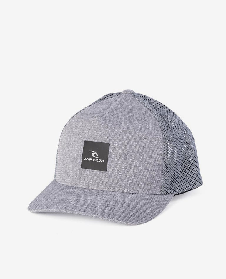 Monument Trucker Cap in Grey Marle