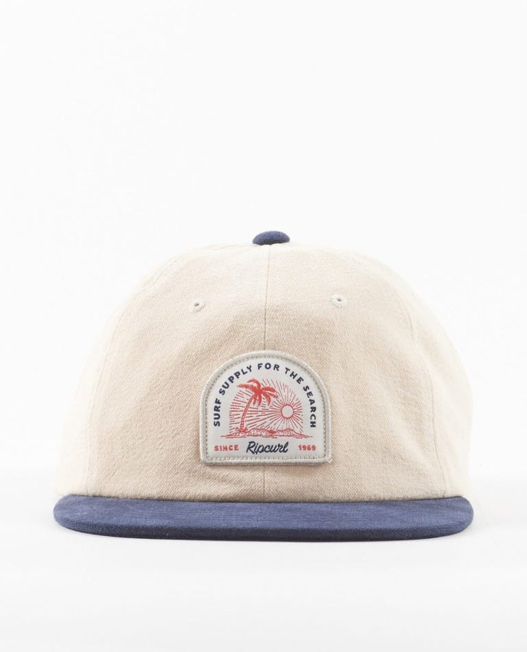 Surf Supply Adjust Cap in Khaki