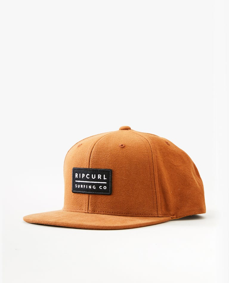 Valley Snapback in Almond