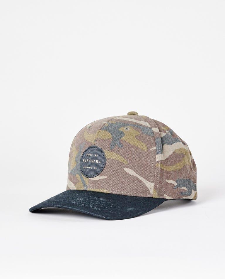 Trestles Snapback Hat in Camo