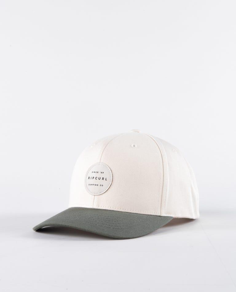 Trestles Snapback Hat in Bone