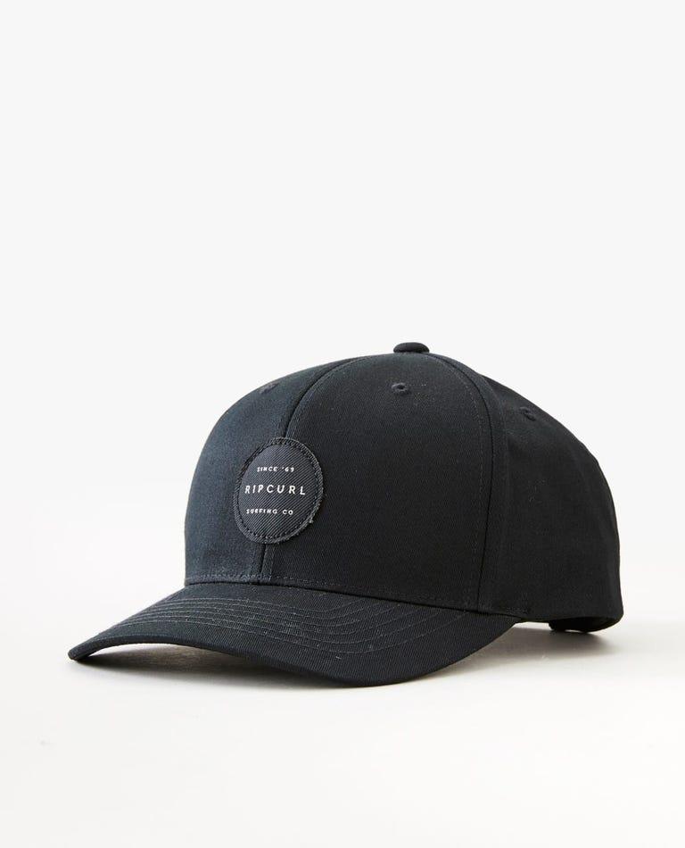 Trestles Snapback Hat in Midnight