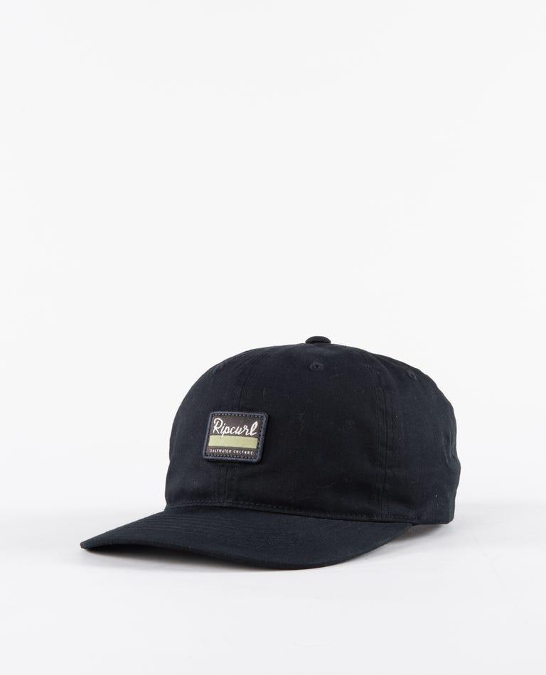 Saltwater Culture Cap in Black