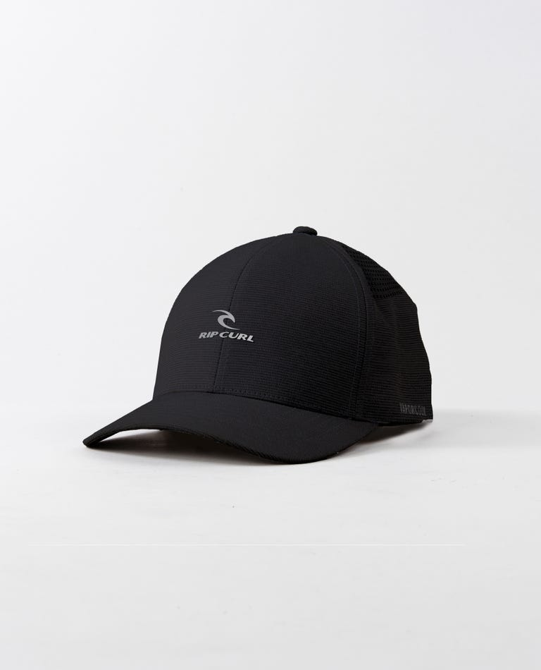 Vapor Flexfit Hat in Black