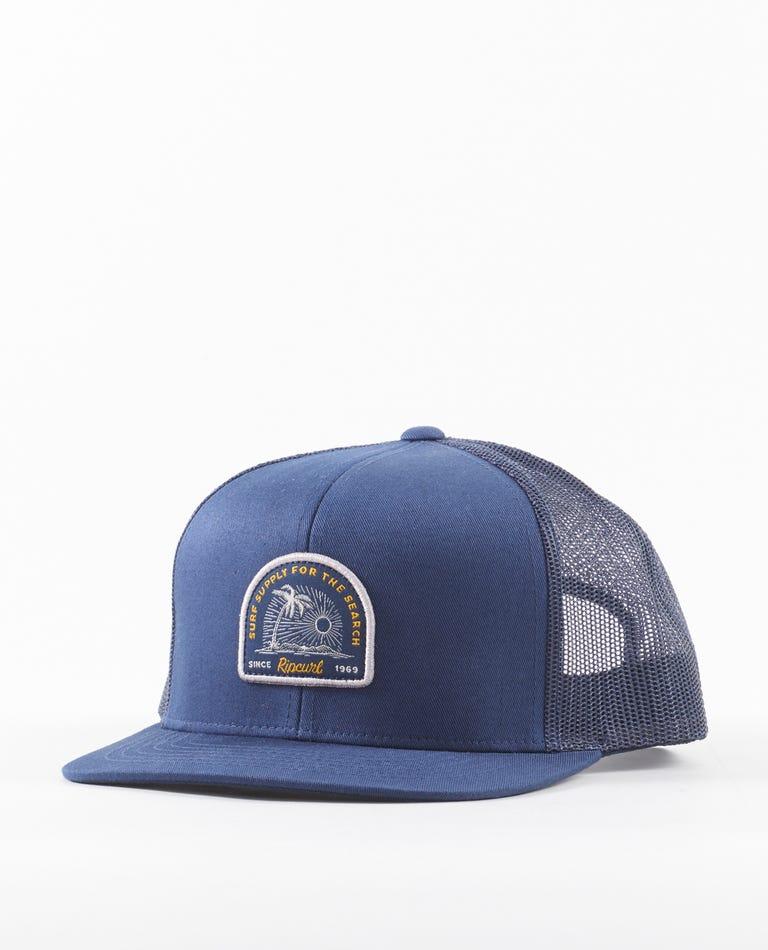 Custom Trucker Hat in Navy
