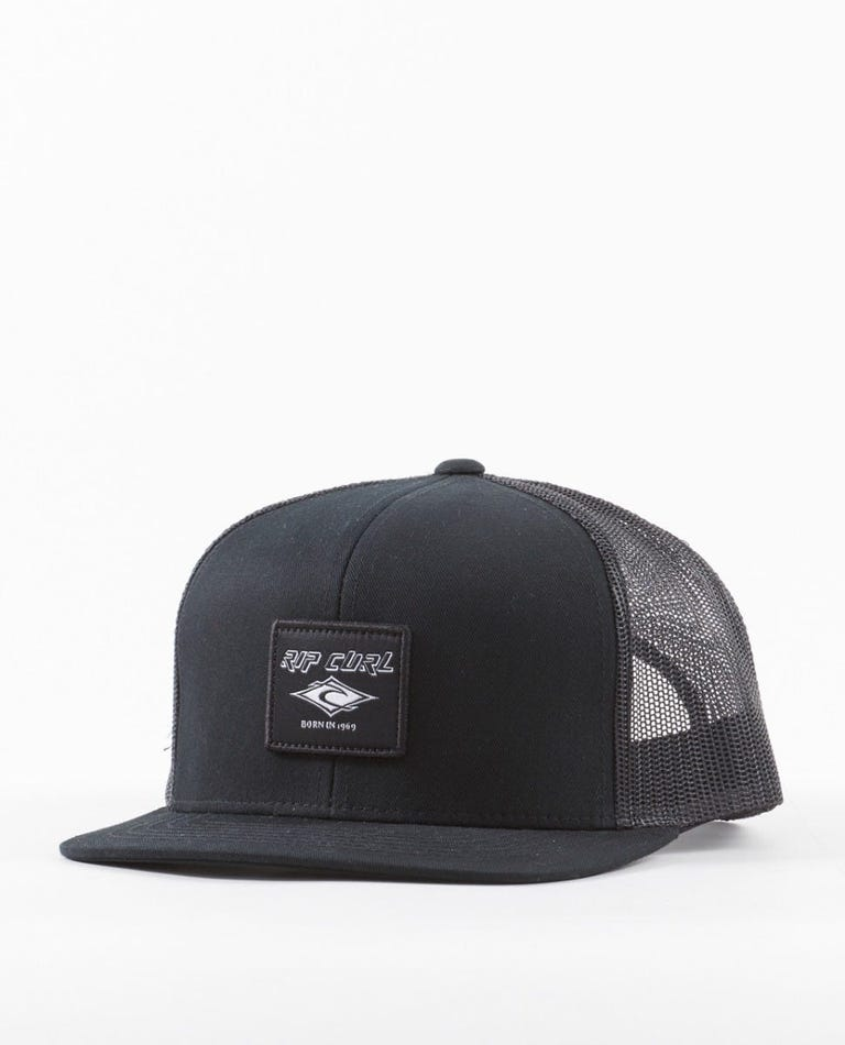 Custom Trucker Hat in Black